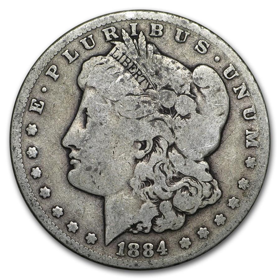 1884-CC Morgan Dollar VG