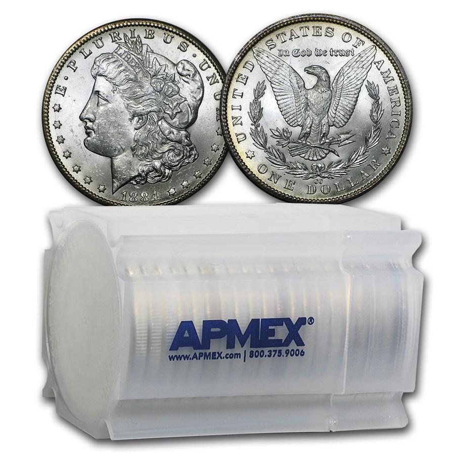 1884-CC Morgan Dollars BU (20 Count Roll)