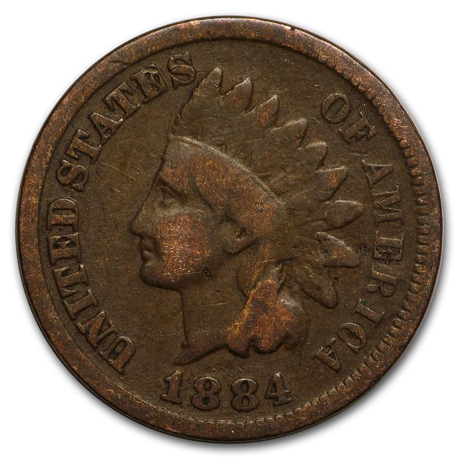 1884 Indian Head Cent Good+
