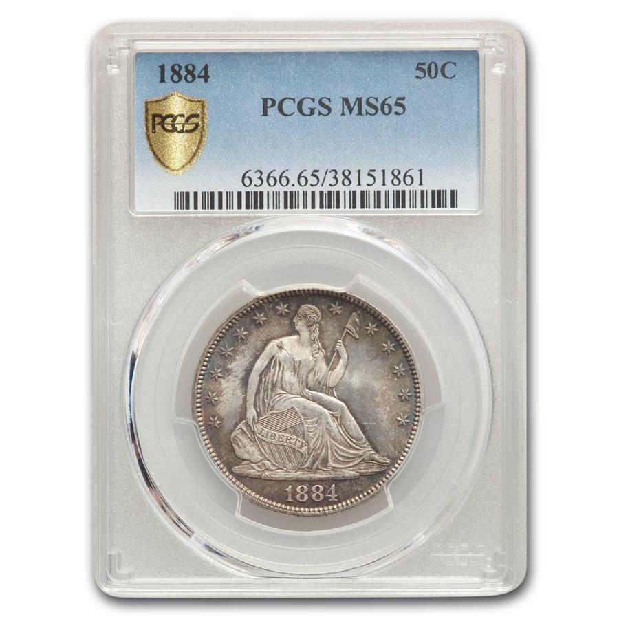 1884 Liberty Seated Half Dollar MS-65 PCGS