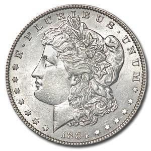 1884 Morgan Dollar AU