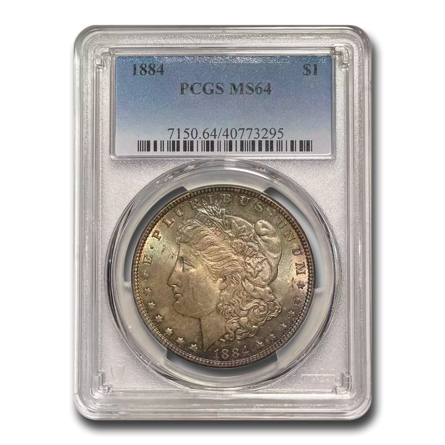 1884 Morgan Dollar MS-64 PCGS