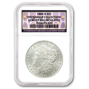 1884-O Morgan Dollar AU NGC (Fitzgerald Collection)