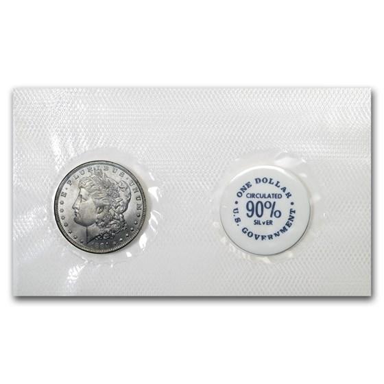 1884-O Morgan Dollar BU (GSA Soft Pack)