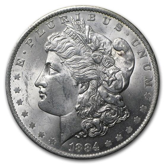 1884-O Morgan Dollar BU