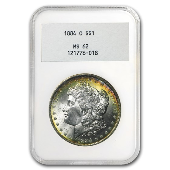 1884-O Morgan Dollar MS-62 NGC (2nd Issue Holder)