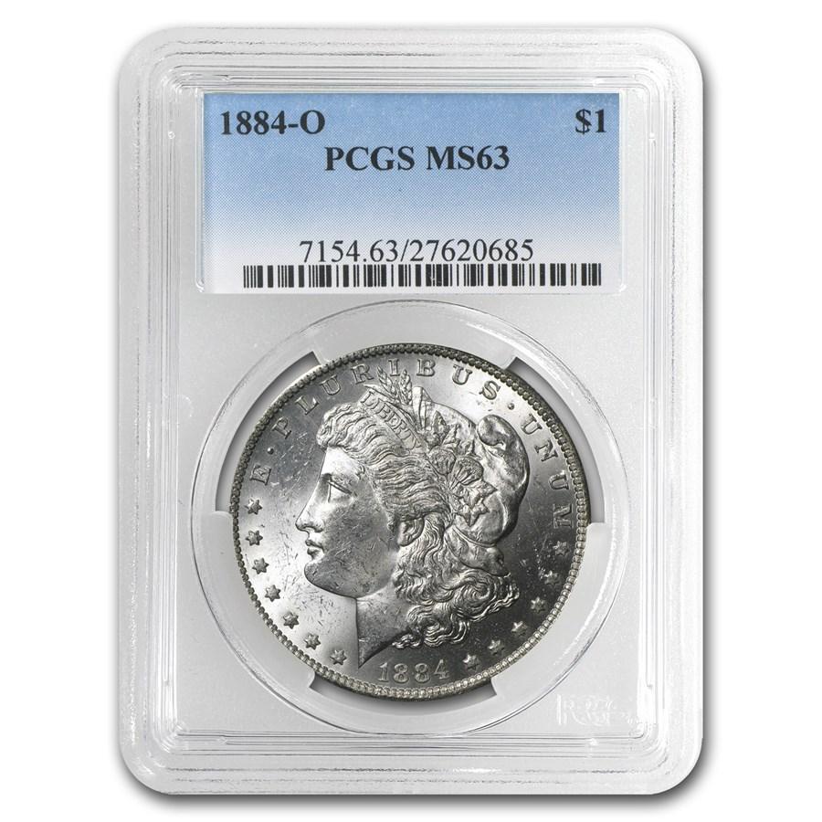 1884-O Morgan Dollar MS-63 PCGS