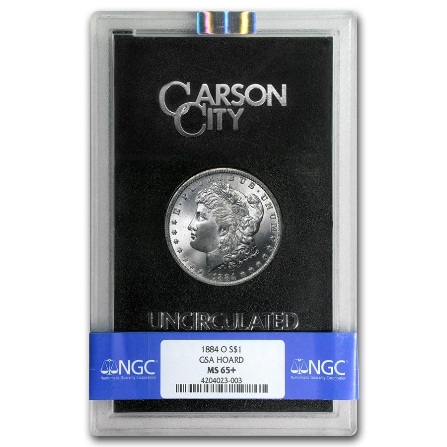 1884-O Morgan Dollar MS-65+ NGC (GSA)