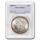 1884-O Morgan Dollar MS-65 PCGS