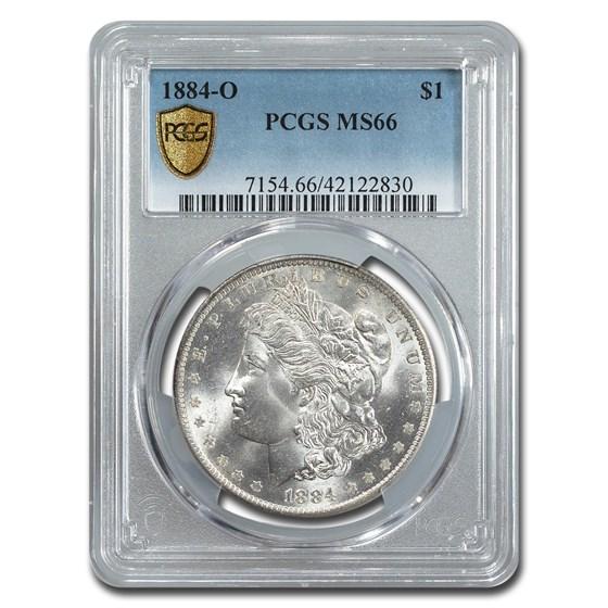 1884-O Morgan Dollar MS-66 PCGS