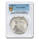 1884-O Morgan Dollar MS-67 PCGS