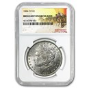 1884-O Stage Coach Morgan Dollar BU NGC
