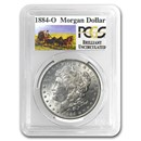 1884-O Stage Coach Morgan Dollar BU PCGS