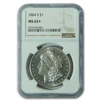 1884-S Morgan Dollar MS-62+ NGC