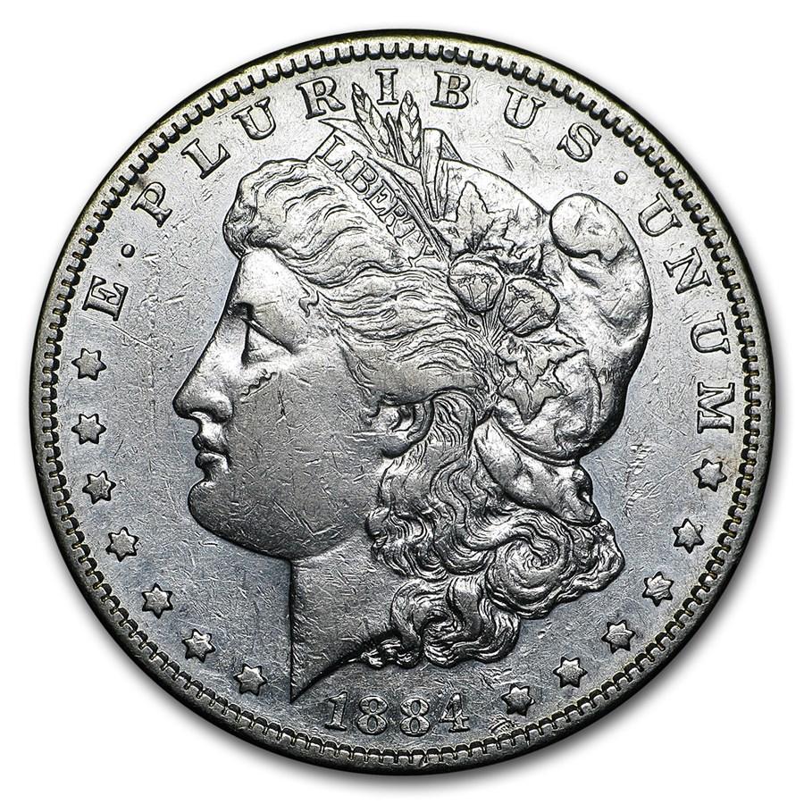 1884-S Morgan Dollar VG/VF