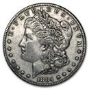 1884-S Morgan Dollar XF-45
