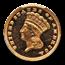 1885 $1 Indian Head Gold PR-64 Cameo PCGS CAC
