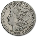 1885-CC Morgan Dollar Fine