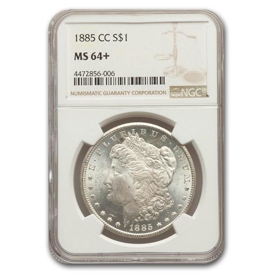 1885-CC Morgan Dollar MS-64+ NGC