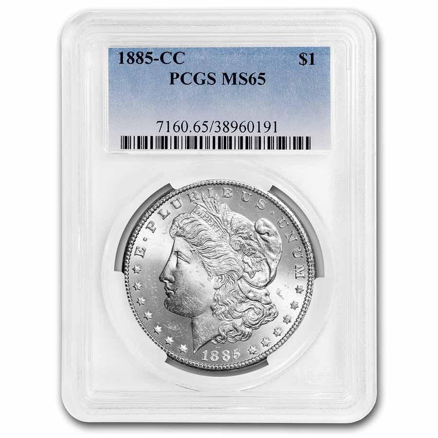1885-CC Morgan Dollar MS-65 PCGS