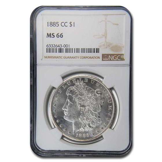 1885-CC Morgan Dollar MS-66 NGC