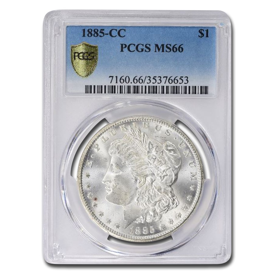 1885-CC Morgan Dollar MS-66 PCGS