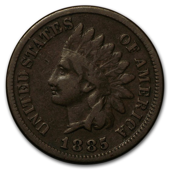 1885 Indian Head Cent Fine