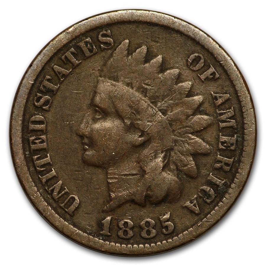 1885 Indian Head Cent Good+