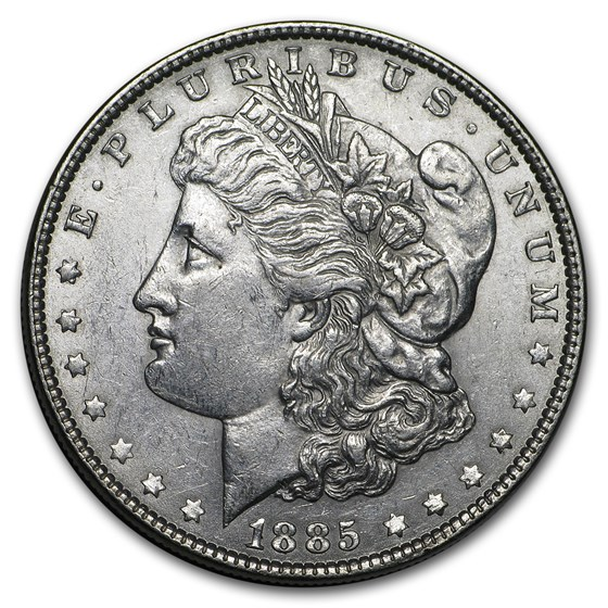 1885 Morgan Dollar AU