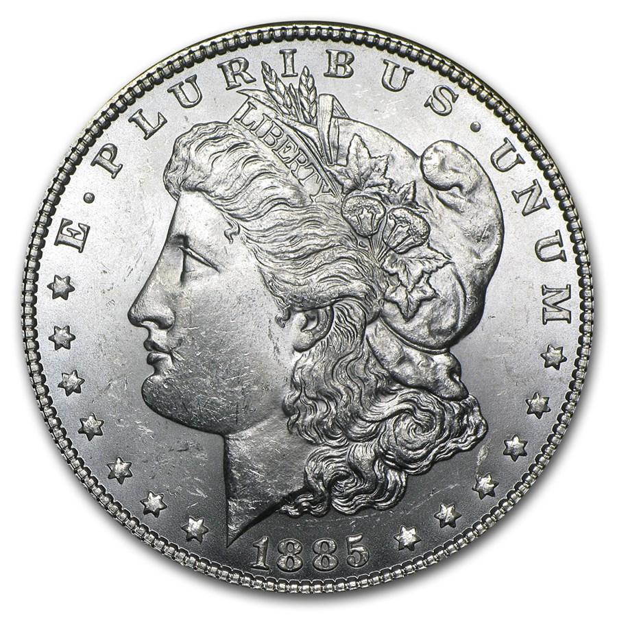 1885 Morgan Dollar BU