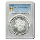 1885 Morgan Dollar MS-64 DMPL PCGS
