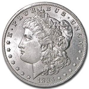 1885-O Morgan Dollar AU