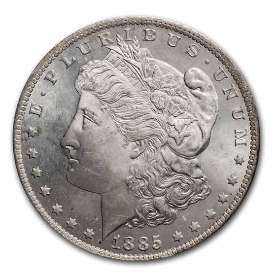 1885-O Morgan Dollar BU (Prooflike)