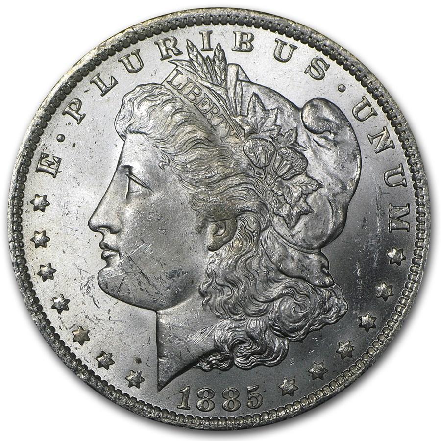 1885-O Morgan Dollar BU