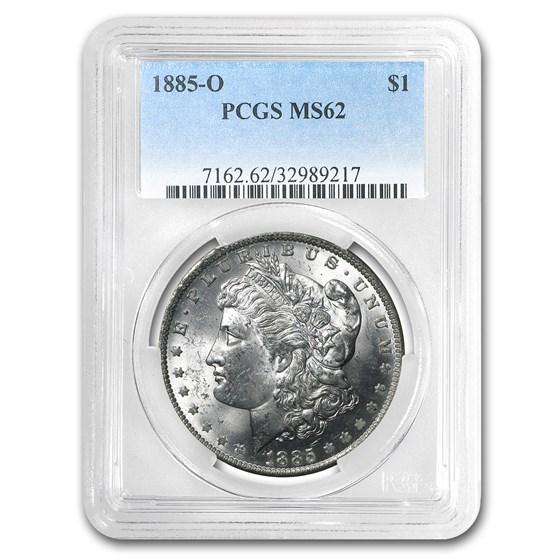 1885-O Morgan Dollar MS-62 PCGS