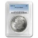 1885-O Morgan Dollar MS-64 PCGS