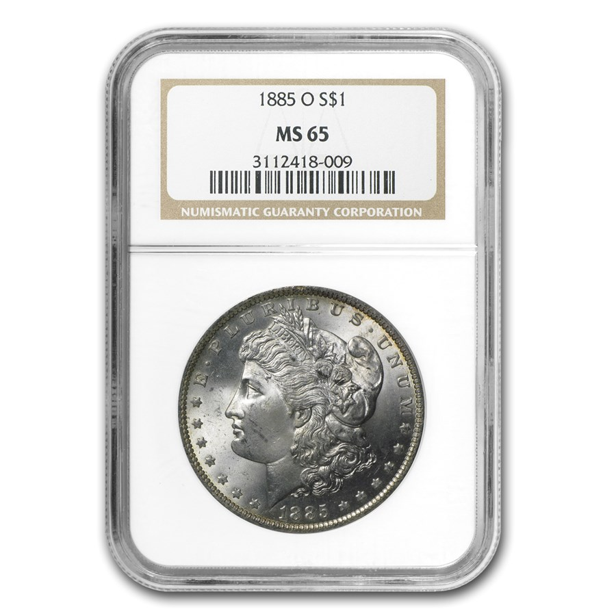 1885-O Morgan Dollar MS-65 NGC