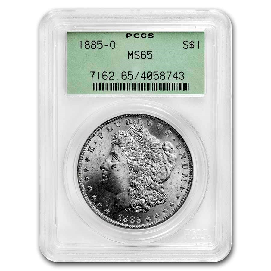 1885-O Morgan Dollar MS-65 PCGS (OGH)