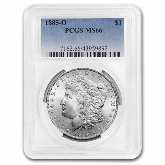 1885-O Morgan Dollar MS-66 PCGS