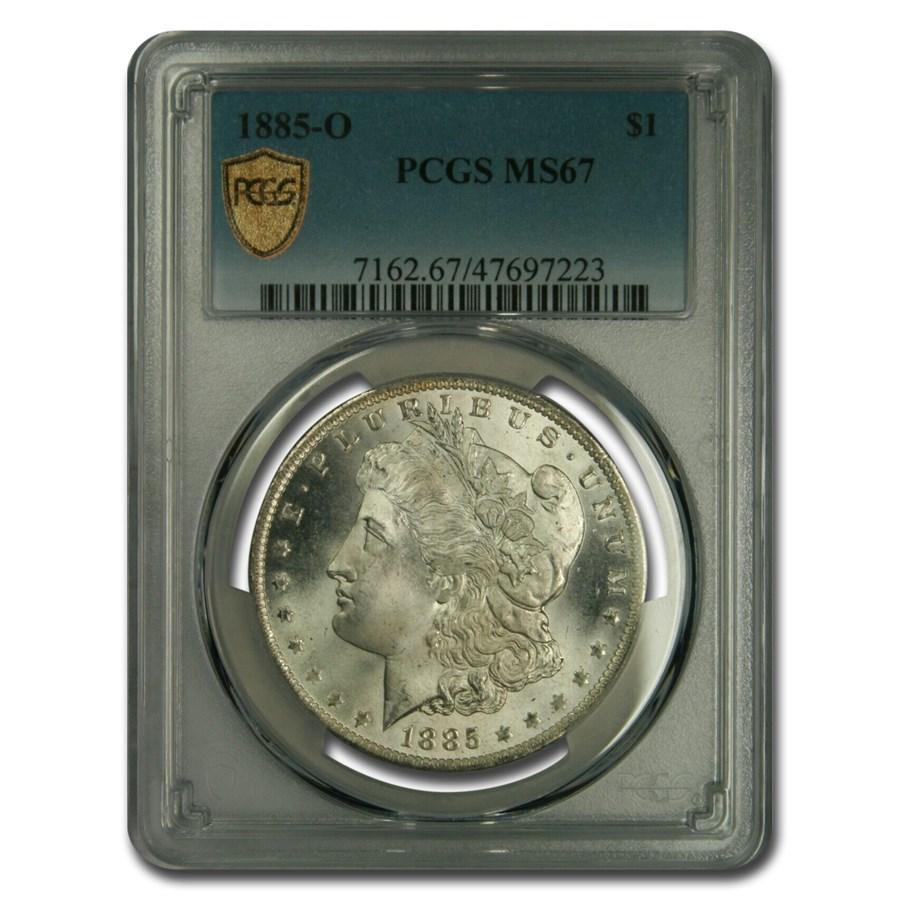 1885-O Morgan Dollar MS-67 PCGS