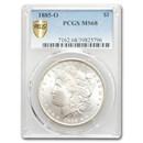 1885-O Morgan Dollar MS-68 PCGS