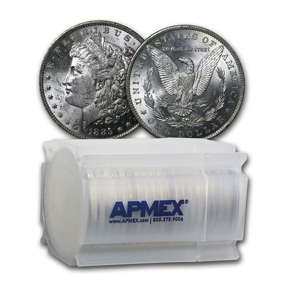 1885-O Morgan Dollars BU (20 Count Roll)