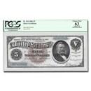 1886 $5.00 Silver Certificate U.S. Grant CU-63 PCGS (Fr#263) App