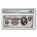 1886 $5.00 Silver Certificate U. S. Grant VF-25 PMG (Fr#264)