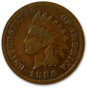 1886 Indian Head Cent Type-I Good+