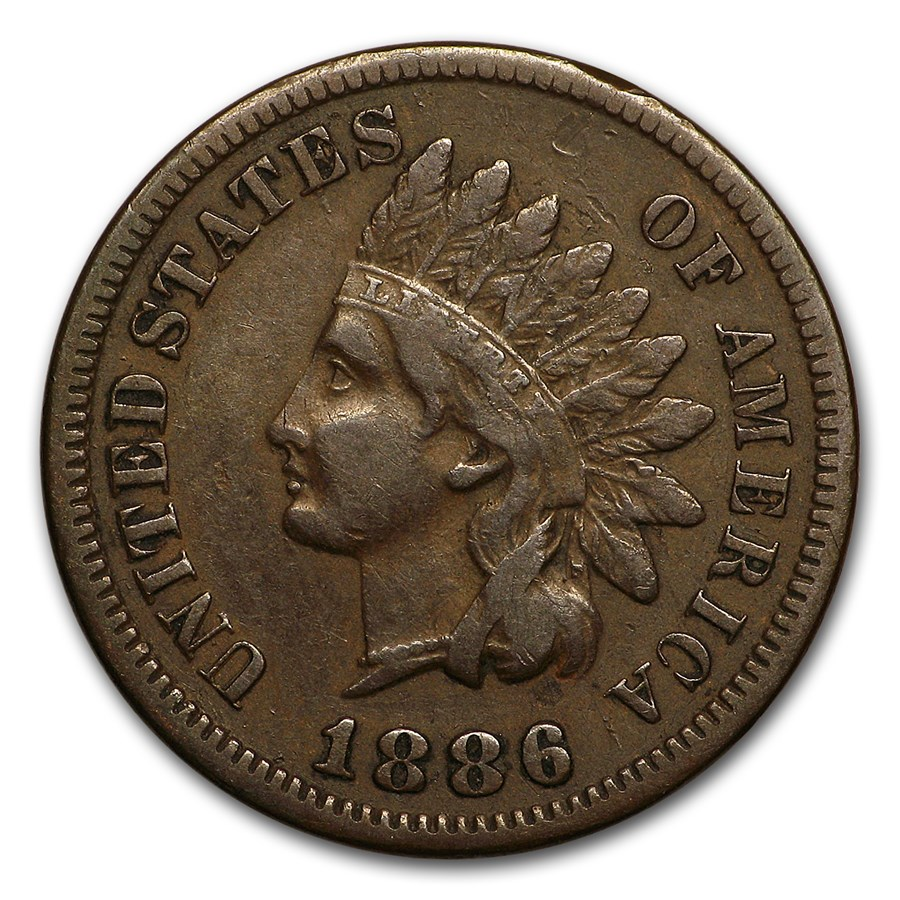 1886 Indian Head Cent Type-I VF
