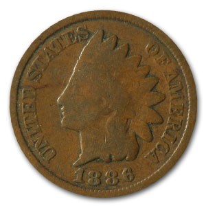 1886 Indian Head Cent Type-II Good+