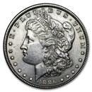 1886 Morgan Dollar AU