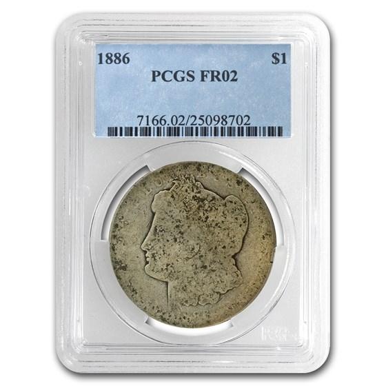 1886 Morgan Dollar Fair-2 PCGS (Low Ball Registry)