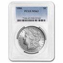 1886 Morgan Dollar MS-63 PCGS